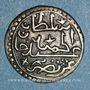 Monnaies Algérie. Ottomans. Abd al-Hamid (1187-1203H). 1/8 de boudjou 1202H. Alger