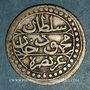Monnaies Algérie. Ottomans. Mahmoud II (1223-1255H). 1/8 boudjou 1237H. Alger
