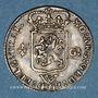 Monnaies Antilles néerlandaises. Compagnie des Indes occidentales. 1/4 gulden 1794W. Utrecht