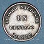 Monnaies Argentine. République. 1 centavo 1854