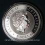 Monnaies Australie. Elisabeth II (1952- ). 1 dollar 2016 Kookaburra. (1 once. 999 /1000)