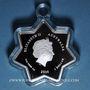 Monnaies Australie. Elisabeth II (1952- ). 1 dollar 2016 Merry Christmas - Star-Shaped Silver Coin