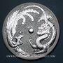 Monnaies Australie. Elisabeth II (1952- /). 1 dollar 2017 Dragon et Phénix