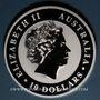 Monnaies Australie. Elisabeth II (1952- ). 10 dollars 2016 Koala. (10 onces. 999 /1000)