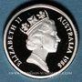 Monnaies Australie. Elisabeth II (1952- ). 2 dollars 1988
