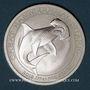 Monnaies Australie. Elisabeth II (1952- ). 50 cents 2015 Grand requin marteau (1/2 once. 999 /1000)