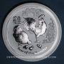 Monnaies Australie. Elisabeth II (1952- ). 8 dollars 2017 Anné du Coq. (5 onces. 999 /1000)