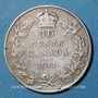 Monnaies Australie. Georges V (1910-1936). 10 cents 1911