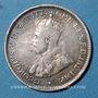 Monnaies Australie. Georges V (1910-1936). 3 pences 1917