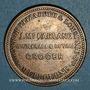 Monnaies Australie. J. McFarlane, Melbourne. Token (1 penny) (1863)