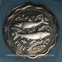 Monnaies Bahamas. 10 cents 1974
