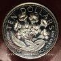 Monnaies Bahamas. 10 dollars 1975. Anniversaire de l'Indépendance. Argent