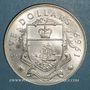 Monnaies Bahamas. 5 dollars 1969