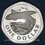 Monnaies Barbade. 1 dollar 1973