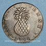 Monnaies Barbade. Georges III (1760-1820). 1 penny token 1788