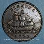 Monnaies Bermudes. Georges III (1760-1820). 1 penny 1793