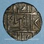 Monnaies Bhoutan. 1/2 roupie (1835-1910)