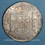 Monnaies Bolivie. Charles IV (1788-1808). 8 reales 1808PJ. Potosi
