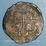 Monnaies Bolivie. Philippe IV (1621-1665). 8 reales (1630-1631) P T. Potosi
