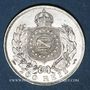 Monnaies Brésil. Pierre II (1831-1889). 200 reis 1868