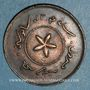 Monnaies Brunei. Hashim Jelal, sultan (1885-1906). 1 cent 1304H
