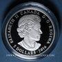Monnaies Canada. 5 dollars 2016 Pierre de naissance - Avril. 999,9/1000. 7,96 g