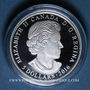Monnaies Canada. 5 dollars 2016 Pierre de naissance - Octobre. 999,9/1000. 7,96 g