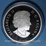Monnaies Canada. 50 dollars 2016. Royaumes mythiques des Haïdas - L'Ours. 999,9/1000. 157,60 g