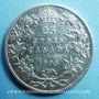Monnaies Canada. Edouard VII (1901-1910). 25 cents 1908