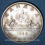 Monnaies Canada. Elisabeth II (1952- /). 1 dollar 1963