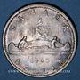 Monnaies Canada. Elisabeth II (1952- /). 1 dollar 1965