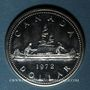 Monnaies Canada. Elisabeth II (1952- /). 1 dollar 1972