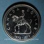Monnaies Canada. Elisabeth II (1952- /). 1 dollar 1973 Police montée