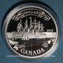 Monnaies Canada. Elisabeth II (1952- /). 1 dollar 2016 150e anniversaire du câble transatlantique