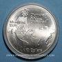 Monnaies Canada. Elisabeth II (1952- /). 10 dollars 1973, J.O. Montréal. Carte du Monde