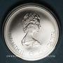 Monnaies Canada. Elisabeth II (1952- /). 10 dollars 1974. J.O. Montréal. Cycles