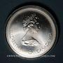 Monnaies Canada. Elisabeth II (1952- /). 10 dollars 1976. J.O. Montréal. Football