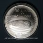 Monnaies Canada. Elisabeth II (1952- /). 10 dollars 1976. J.O. Montréal. Le Vélodrome
