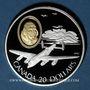 Monnaies Canada. Elisabeth II (1952- /). 20 dollars 1990. Aviation canadienne - Le Lancaster