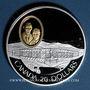 Monnaies Canada. Elisabeth II (1952- /). 20 dollars 1991. Aviation canadienne - Le Silver Dart