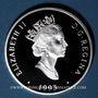 Monnaies Canada. Elisabeth II (1952- /). 20 dollars 1993. Aviation canadienne - Le Fairchild