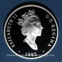 Monnaies Canada. Elisabeth II (1952- /). 20 dollars 1993. Aviation canadienne - Le Lockheed 14