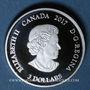 Monnaies Canada. Elisabeth II (1952- /). 3 dollars 2017 Signes du Zodiaque - Poissons (999,9 /1000. 7,96 g)