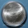 Monnaies Canada. Elisabeth II (1952- /). 5 dollars 1976. J.O. Montréal. Escrime