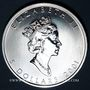Monnaies Canada. Elisabeth II (1952- /). 5 dollars 2001