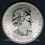 Monnaies Canada. Elisabeth II (1952- /). 5 dollars 2015 Grand duc (1 once. 999,9 /1000)
