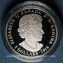 Monnaies Canada. Elisabeth II (1952- /). 5 dollars 2016 Pierre de naissance - Mars. 999,9 /1000.  7,96 g