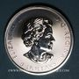 Monnaies Canada. Elisabeth II (1952- /). 8 dollars 2016 Faucon des neiges (1,5 once. 999 /1000)
