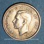 Monnaies Canada. Georges VI (1936-1952). 10 cents 1947