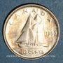 Monnaies Canada. Georges VI (1936-1952). 10 cents 1950